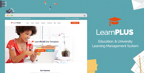learnplus-learndash-integrated-theme-preview
