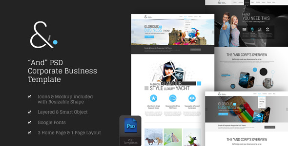 and-corporate-psd-templates