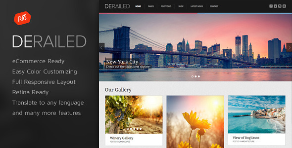 derailed-most-breathtaking-portfolio-wordpress-themes
