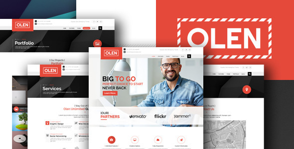 olen-corporate-psd-templates