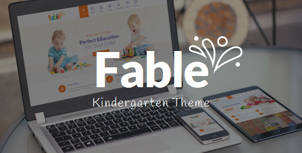 fable-most-wanted-kindergarten-wordpress-theme