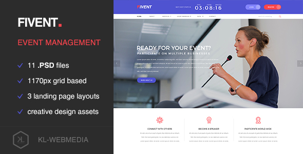 fivent-WordPress-PSD-templates-for-event-planners